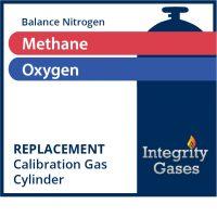 Calibration Gas Methane, Oxygen IG-PN-103S2223